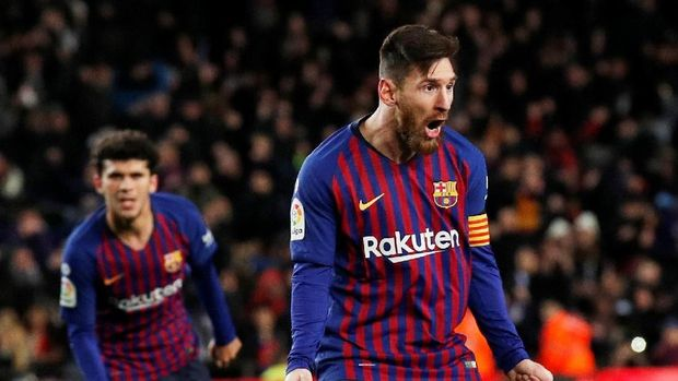 Lionel Messi adalah pemain terbaik dalam sejarah Liga Spanyol menurut Javier Tebas.