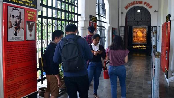 Museum Pos Indonesia diperuntukkan bagi masyarakat umum sebagai sarana untuk mempelajari tentang sejarah pos (Satria Nandha/detikTravel)