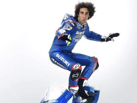 Alex Rins jadi salah satu rider yang punya satu kemenangan di kelas MotoGP