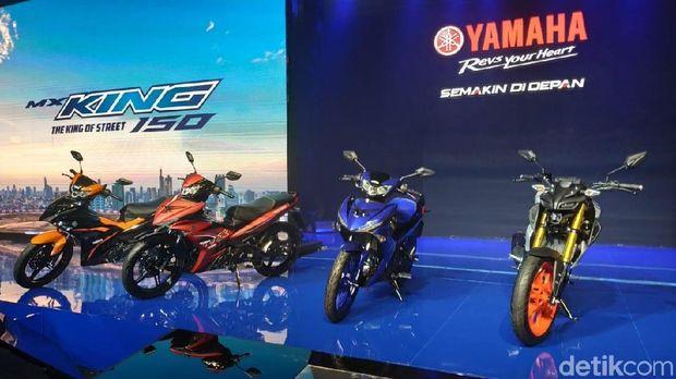 Yamaha Luncurkan MT-15 dan MX King