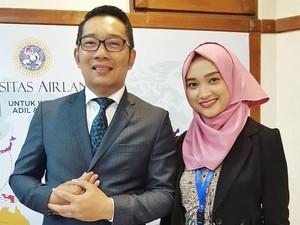 Kisah Wanita Cantik Dapat Jodoh karena Dipromosikan Ridwan Kamil di Instagram