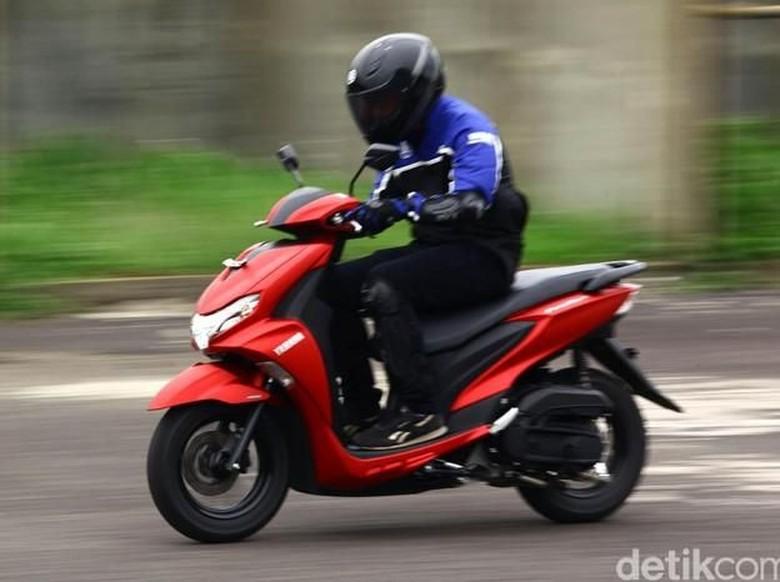 6 Fakta Skutik Yamaha FreeGo, Motor yang Isi Bensin Tanpa Buka Jok/Foto: Yamaha FreeGo (Foto: detikcom/Grandyos Zafna)