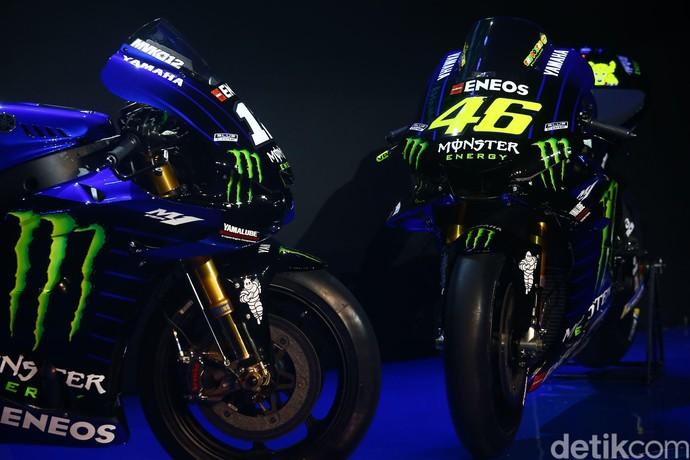 Motor Balap Rossi dan Vinales