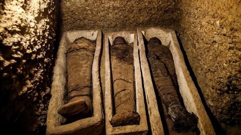 Lebih dari 40 Mumi Berusia 2 Ribu Tahun Ditemukan di Mesir