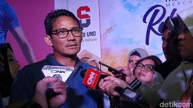 Jokowi Puji Kejujuran Ratna Sarumpaet, Sandiaga: Kami Korban Hoax