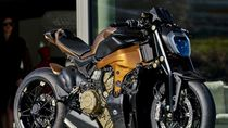 Ducati Panigale V4 Dimodifikasi Jadi Motor Naked