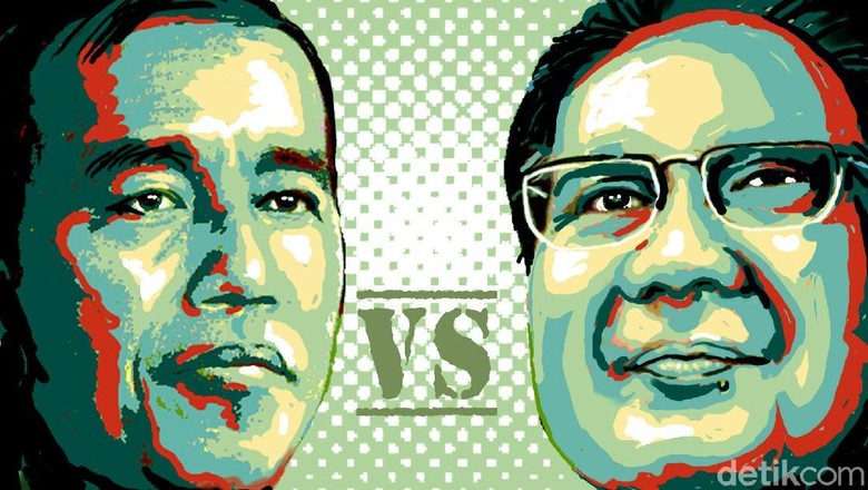 Persiapan Debat Capres: Jokowi Simulasi, Prabowo Bertemu Pakar di Hambalang