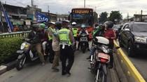 Masuk Busway dan Lawan Arus, 2.451 Orang Ditilang di Jaktim