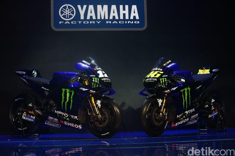 Motor Balap Rossi dan Vinales. Foto: Grandyos Zafna