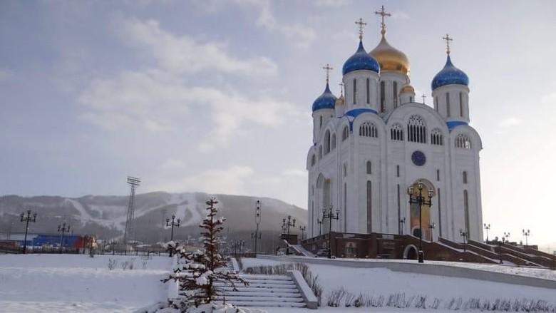 Bangunan khas Rusia dengan kubahnya (Miquel Ros/CNN Travel)