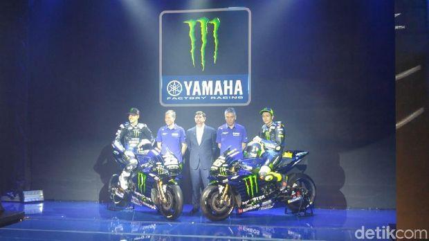 Nih Motor Balap Yamaha yang Bakal Dipakai Rossi dan Vinales