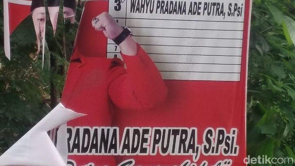 Puluhan APK di Gunungkidul Diduga Dirusak, PDIP Lapor Bawaslu