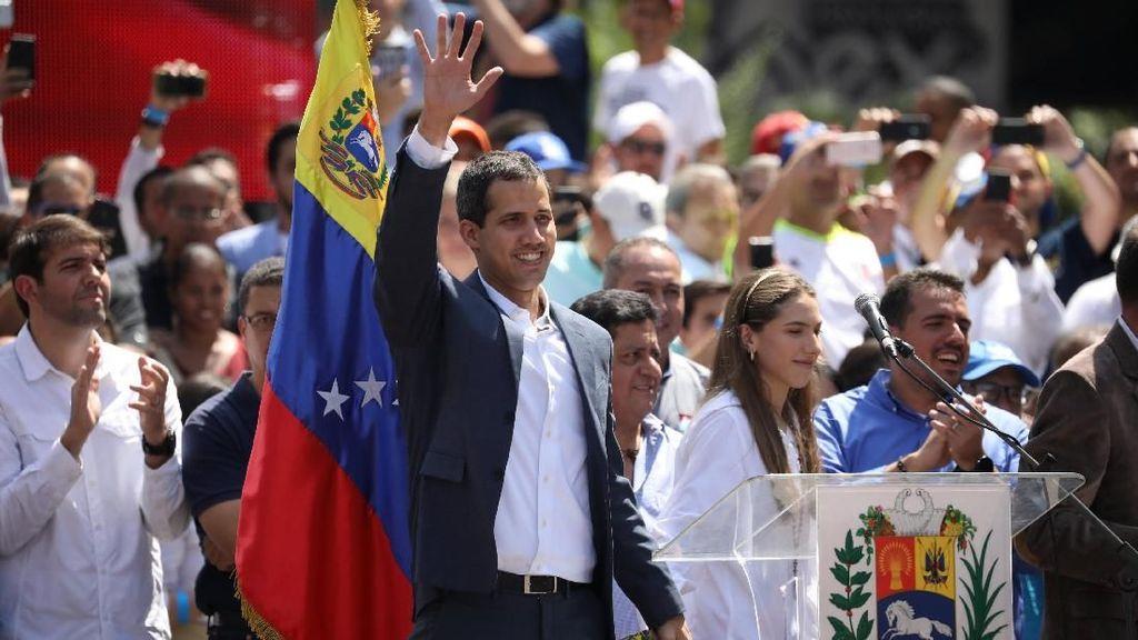 Jepang Nyatakan Dukungan untuk Pemimpin Oposisi Venezuela