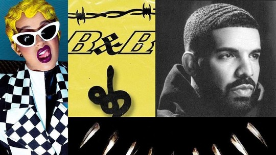 Persaingan Cardi B, Drake hingga Post Malone di Album of the Year