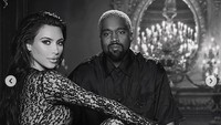 - Kanye West dan Kim Kardashian menjadi pasangan paling serasi dan sensasional di dunia. Foto: Dok. Instagram/kimkardashian