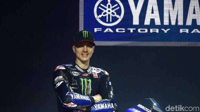 Maverick Vinales akan lebih tenang di MotoGP 2019. (Grandyos Zafna/detikSport)