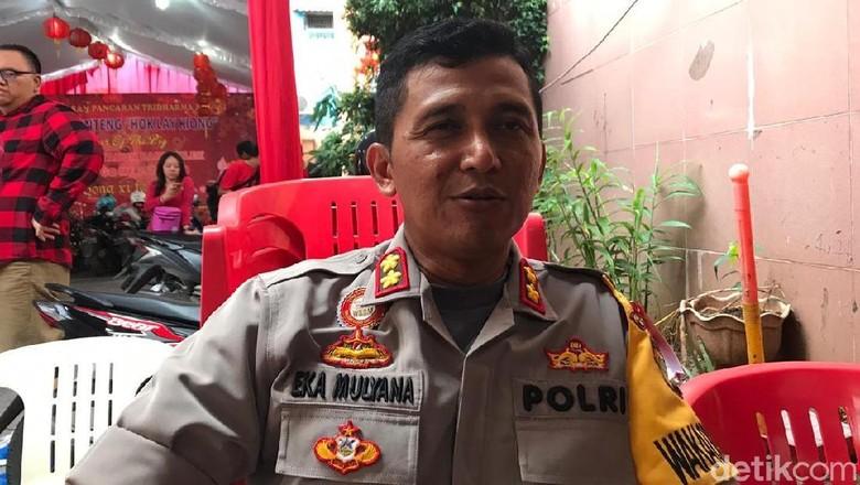 Wakapolres Pantau Situasi, Perayaan Imlek di Kota Bekasi Kondusif