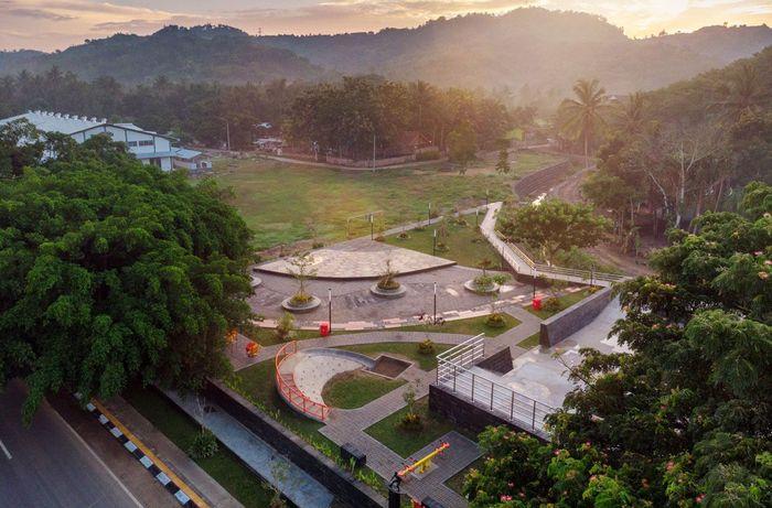 Pembangunan infrastruktur untuk mendukung KSPN di kawasan tersebut telah direncanakan secara terpadu. Istimewa/Kementerian PUPR.