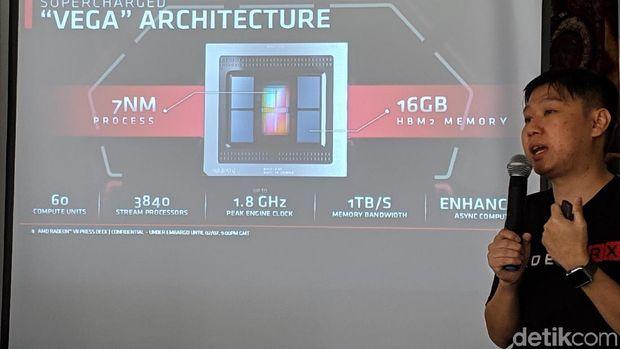AMD Pamer Kartu Grafis Radeon 7 di Indonesia