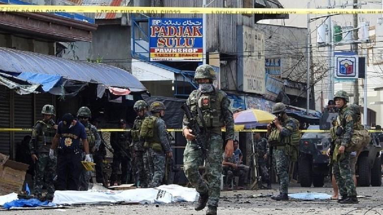 5 Tersangka Serangan Bom Gereja Filipina Telah Menyerahkan Diri