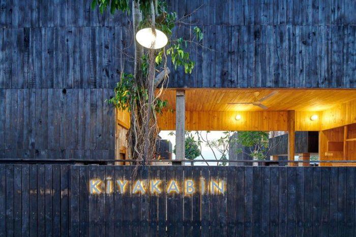 Resort bernama Kiyakabin didesain sebagai eco-resort serta hemat energi dengan tata ruang pedesaan di pinggir pantai. Istimewa/Inhabitat/Atelier Riri.