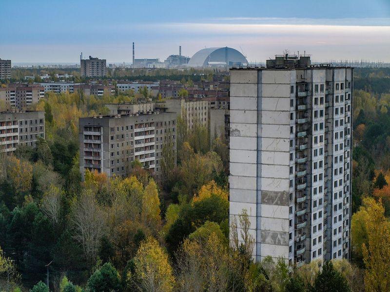 Di tahun 1986, Pembangkit Listrik Tenaga Nuklir di Chernobyl meledak. Lokasinya hanya 20 km dari Kota Pripyat (iStock)