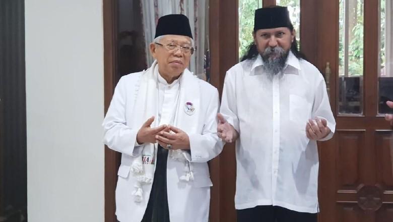Maruf Amin Bertemu Habib Jafar Alkaff, Didoakan Menangi Pilpres