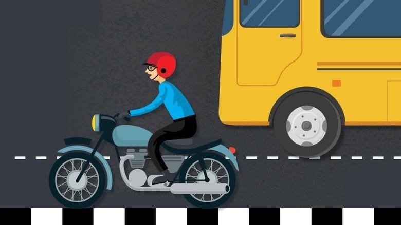 Polisi Telusuri Pengendara Motor yang Nekat Masuk Tol Belmera Sumut