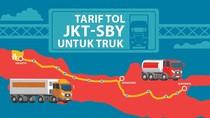 Cerita Sopir Truk yang Girang Lewat Tol Trans Jawa