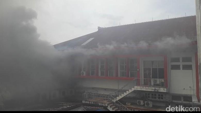Bangunan di Kantor Telkom Ambon Terbakar