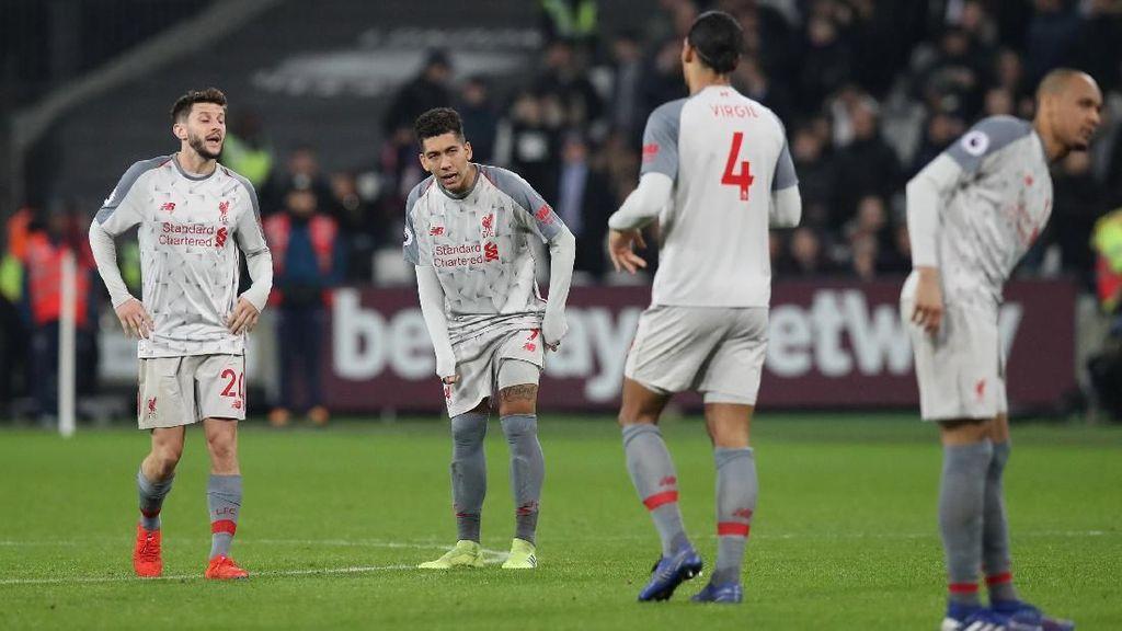 Frustrasi, Liverpool pun Terpeleset
