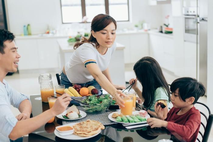 Ilustrasi rumah sesuai feng shui. Foto: Dok. iStock