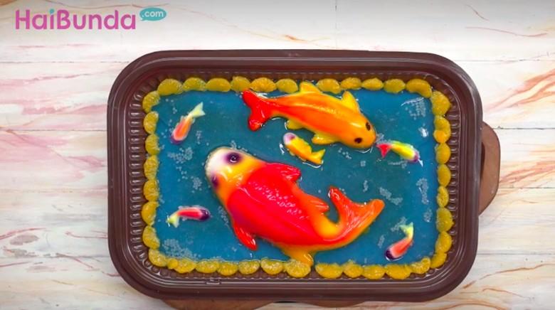 Resep Puding Ikan Koi/ Foto: Semua Bisa Masak TransTV