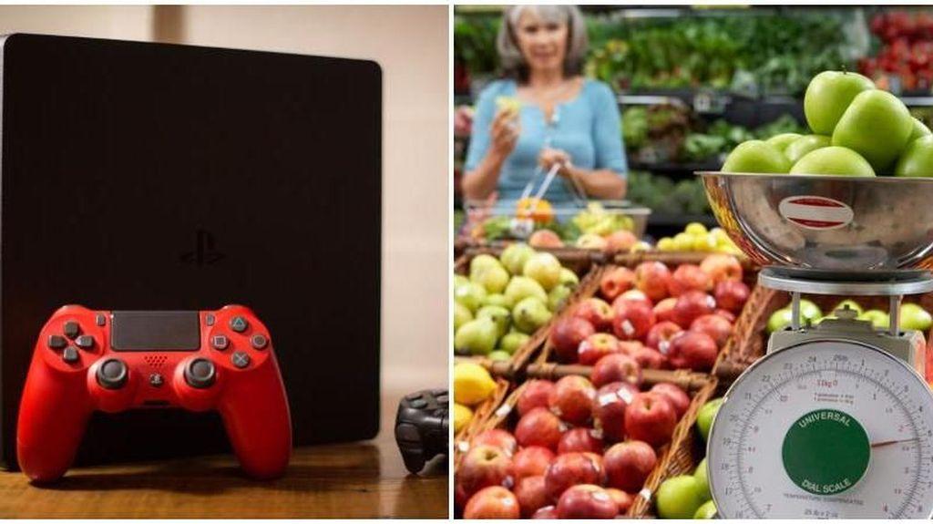Remaja Ini Curi PlayStation dengan Menimbangnya Sebagai Buah di Supermarket