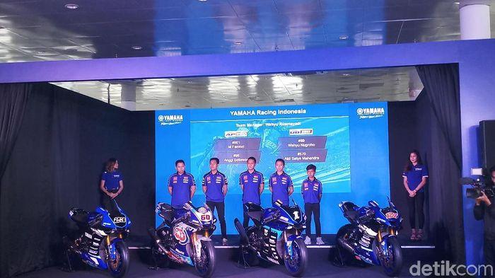 Lima pebalap Indonesia akan dikirim Yamaha ke berbagai kejuaraan 2019. (Foto: Yanu Arifin/detikSport)