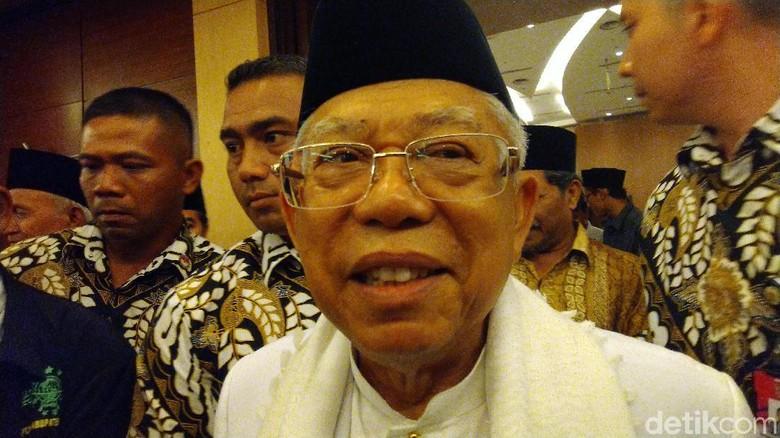 Maruf Amin Singgung Lagi 212 Jadi Gerakan Politik