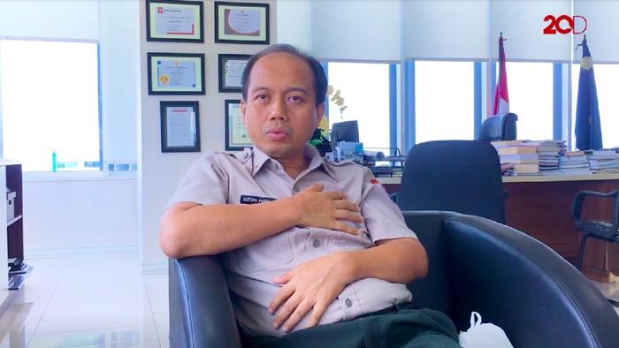Sutopo Purwo Nugroho, pejuang kanker paru stadium 4B (Foto: 20detik)