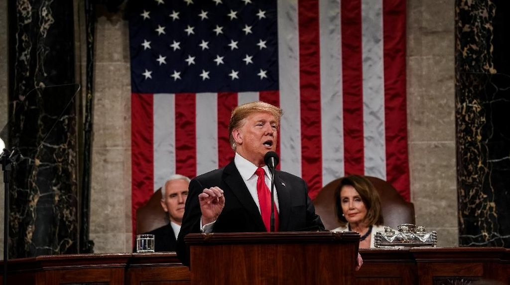 Donald Trump Kasih Angin Segar Buat Huawei