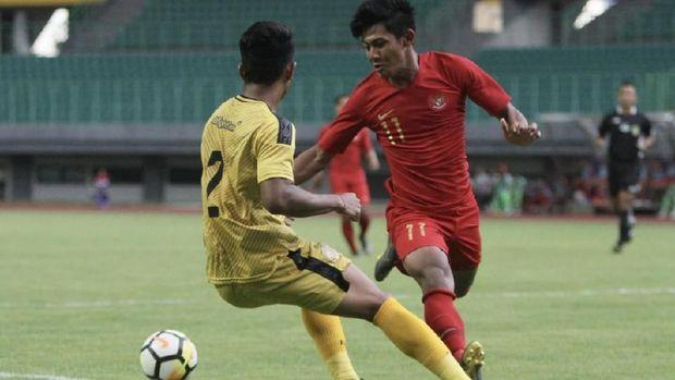 Timnas Indonesia U-22 gagal mempertahankan keunggulan atas Bhayangkara FC.