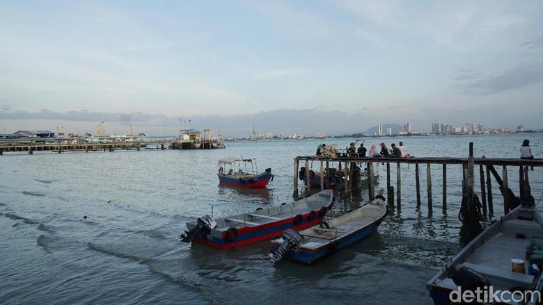 Kawasan Chew Jetty di Penang  (Syanti/detikTravel)