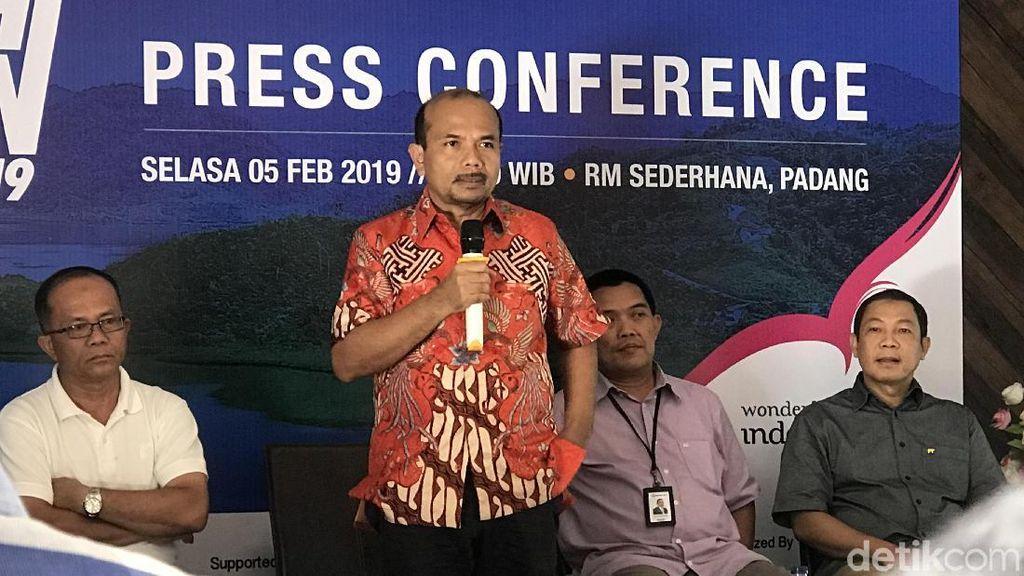 Mandeh Run di Padang Diramaikan 2 Ribu Pelari