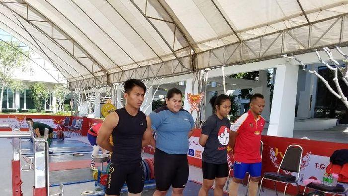 Angkat besi sudah jalani latihan di Thailand jelang kejuaraan Angkat Besi (Istimewa)