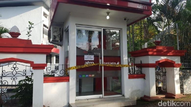 ATM Bank Jatim di Blitar Dibobol, Sisa Saldo Rp 18 Juta Raib
