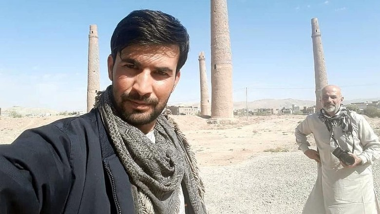 Akbar Kohistani, pemandu wisata di Afghanistan (dok. Hafizullah Kohistani)