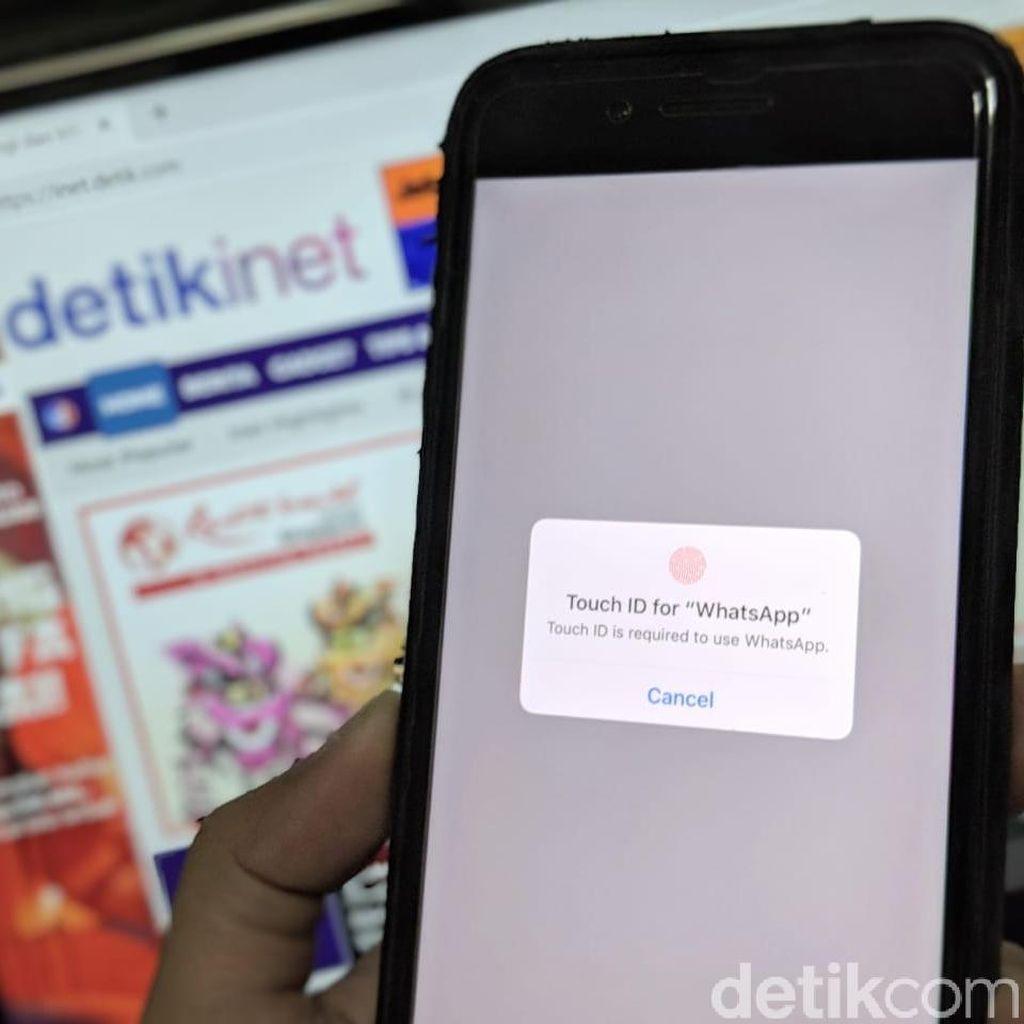 Celah di WhatsApp Bisa Bypass Biometrik iPhone