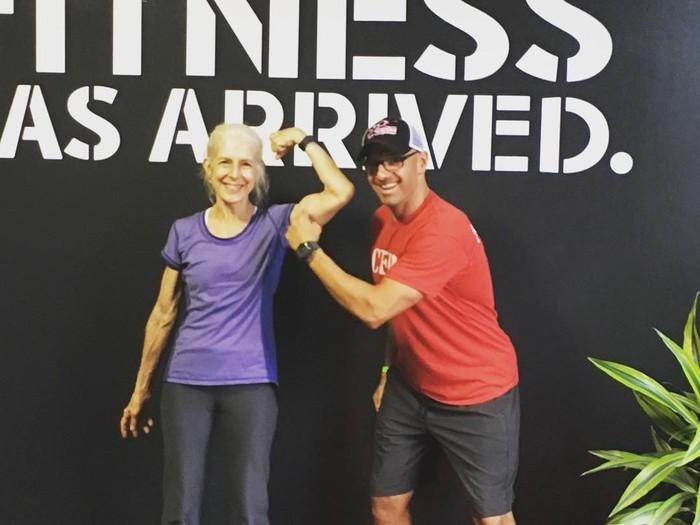 Lauren Bruzzone viral karena di usia 72 tahun masih intens berolahraga. (Foto: Instagram/@chasingthemasters)