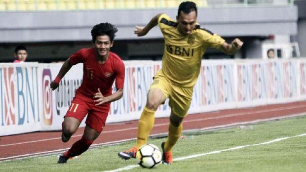 Timnas Indonesia U-22 meraih hasil imbang pada tiga laga uji coba.
