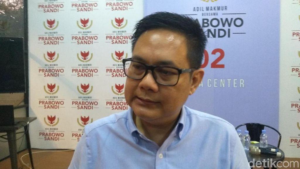Jawab Jokowi, BPN Prabowo: Jalan Desa Bukan Infrastruktur