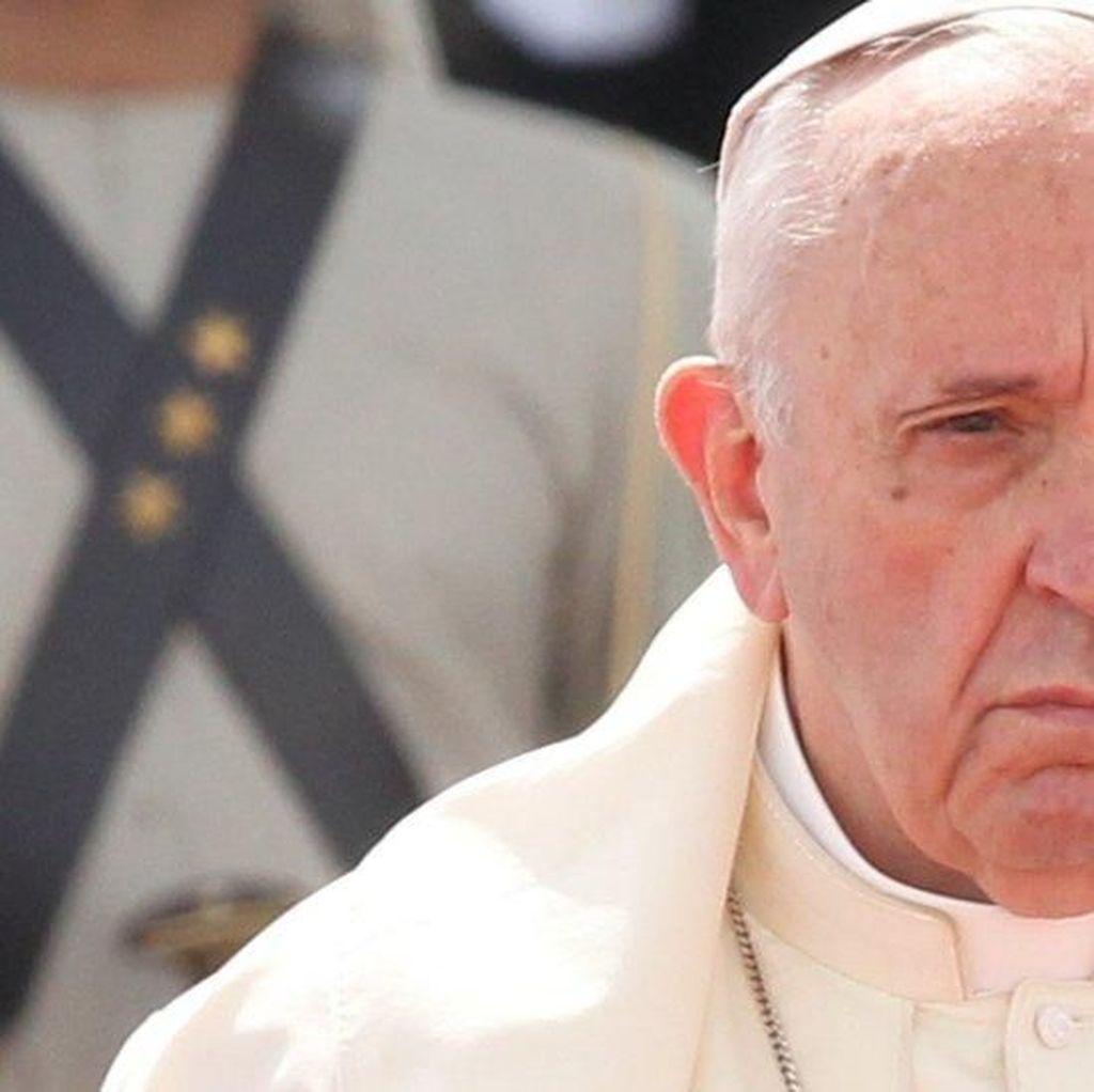 Akibatkan 18 Korban Tewas, Paus Fransiskus Minta Demo Rusuh di Chile Diakhiri