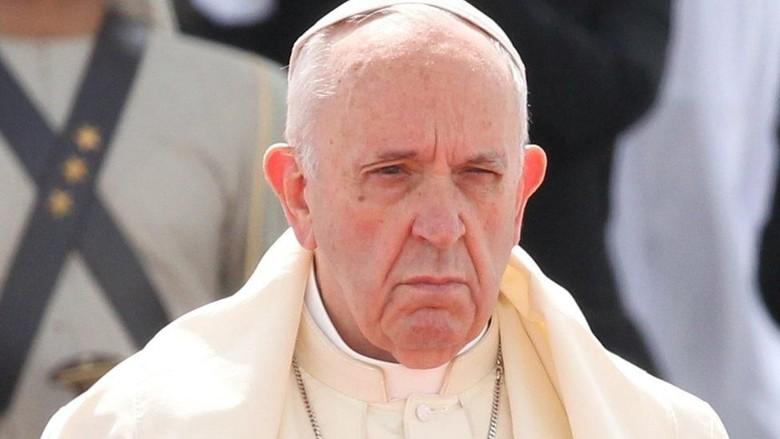 Paus Fransiskus Minta Demo Rusuh di Chile Diakhiri